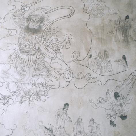 wudanshan-25-fresque