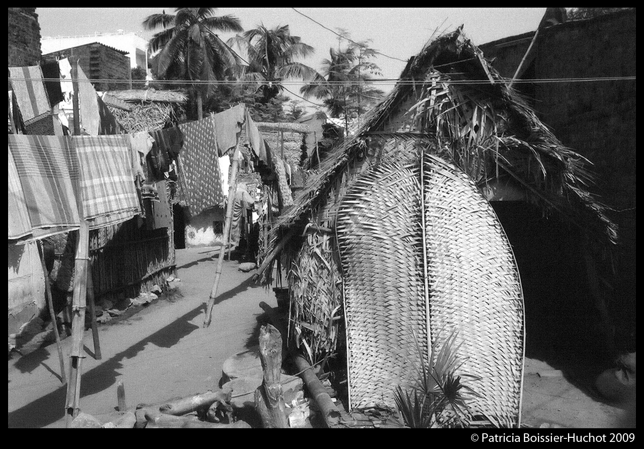 Pondicherry pecheur linge