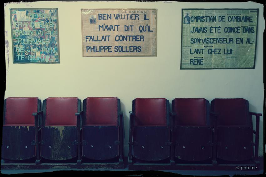Le 22 de L'Ecole de Rodez Le Salonquireçoit juin proposition de Félix Castan Marcel, époque fin de Mostra del Larzac.