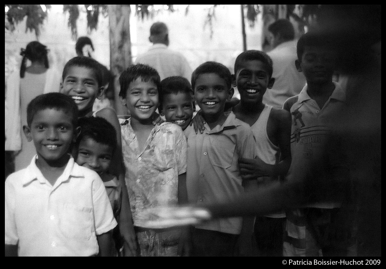 Pondicherry Brahman Enfants rire