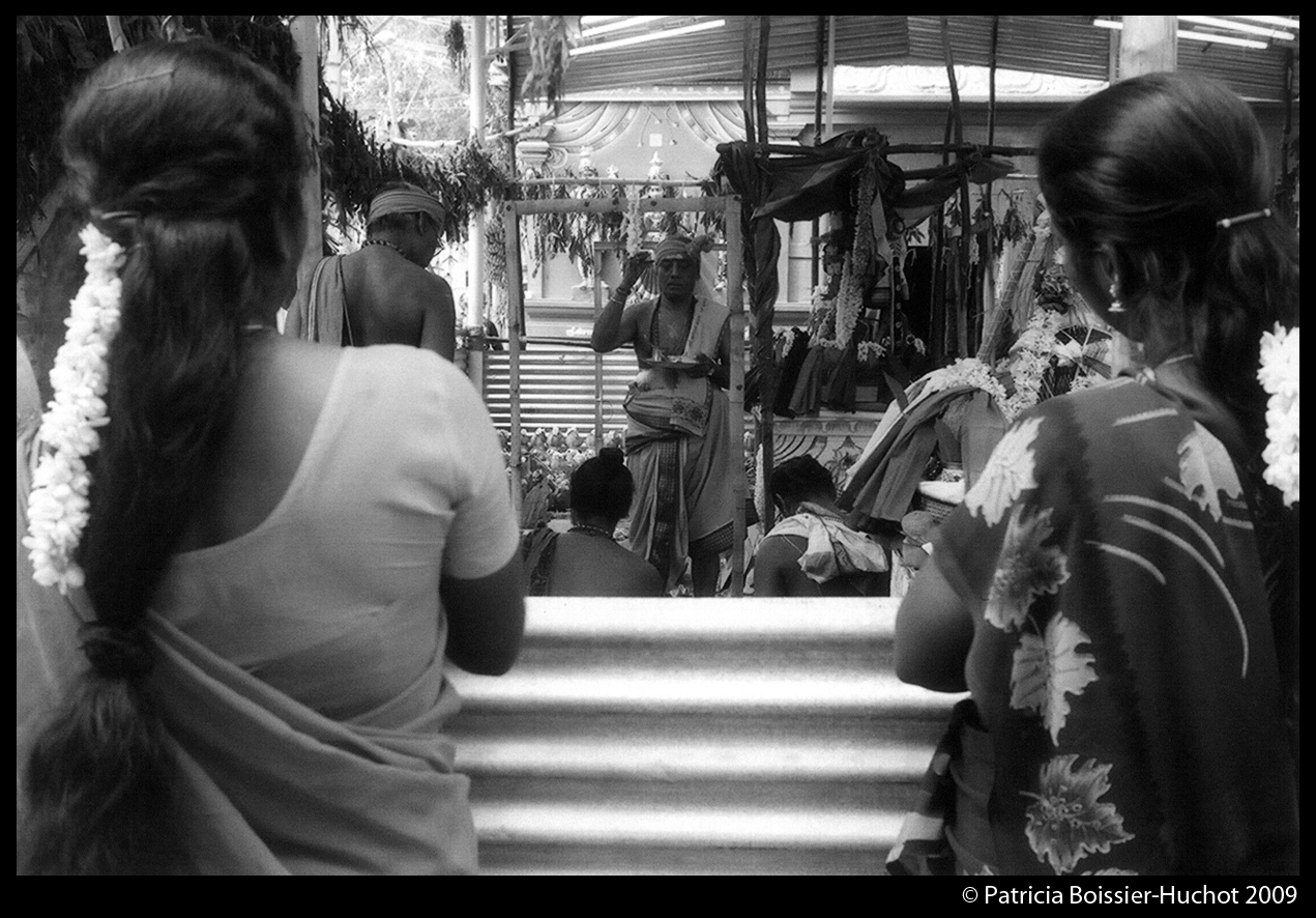 Pondicherry Brahman femmes jasmin